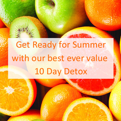 Save £75 on Spring Detox, Get Ready for Summer