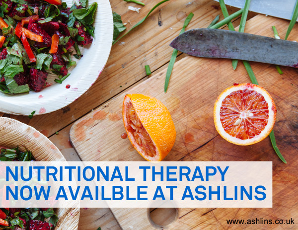 Nutritional Therapy at Ashlins, Walthamstow