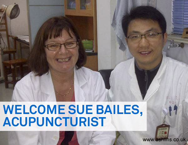 Sue Bailes, Acupuncturist Joins Ashlins