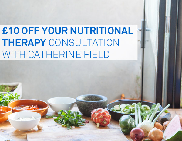 £10 off Your Nutritional Therapy Consultation until 30/11/17