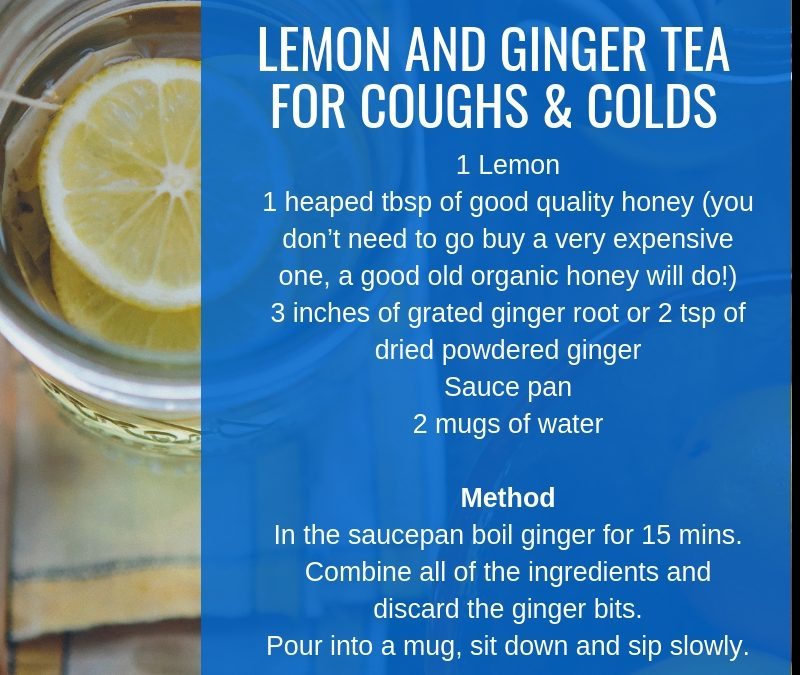 How to Handle Coughs & Colds this Winter