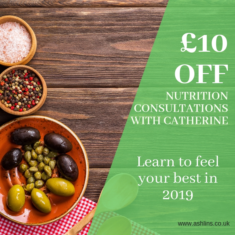 Save £10 on nutrition consultations this January