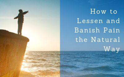 Notes on lessening and banishing pain