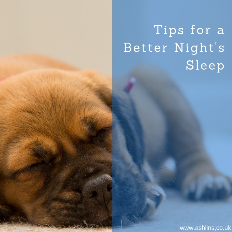 Tips for a Better Night's Sleep, by Jim Aberdein
