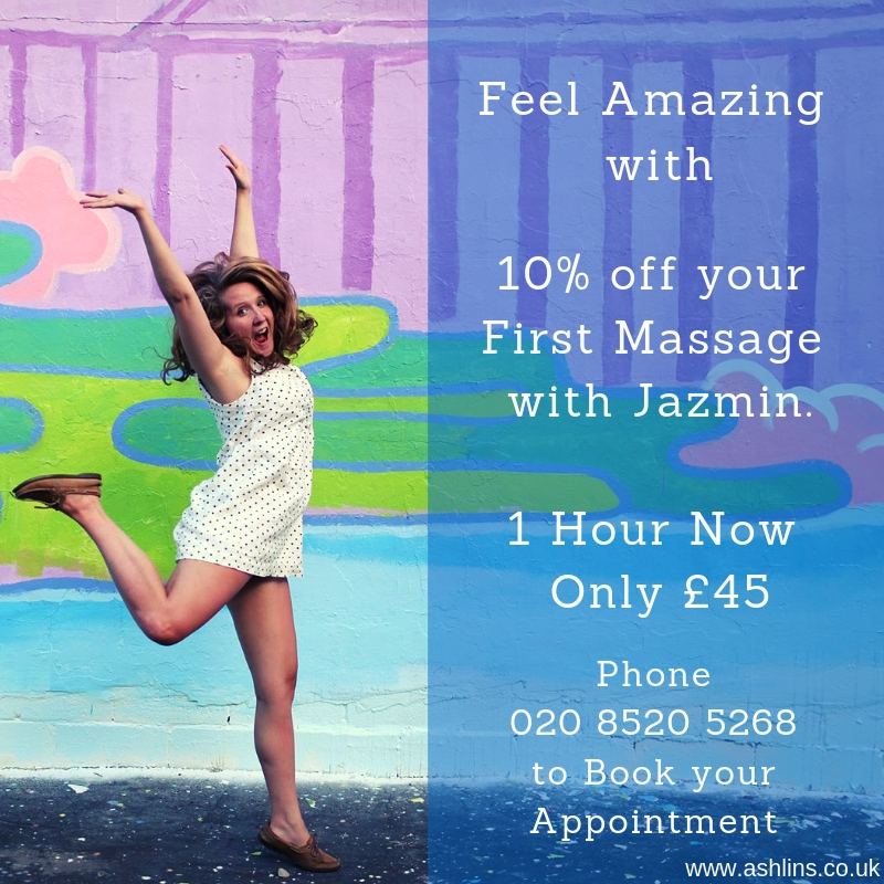 10% off Massage in E17 April 2019